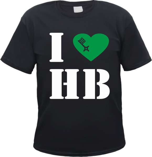 BREMEN T-Shirt - I Love HB