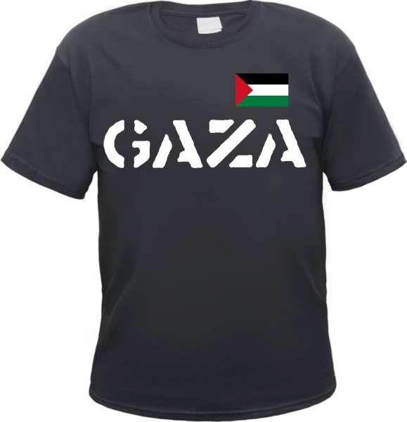 GAZA T-Shirt mit Flagge