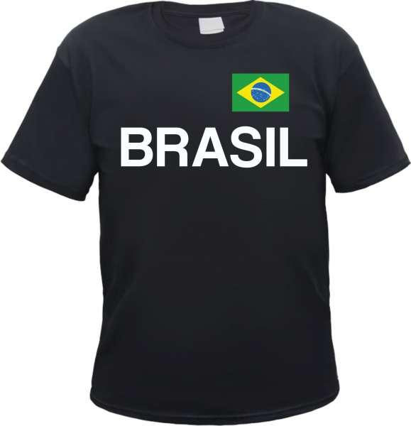 Brasil Flagge Herren T-Shirt Brasilien