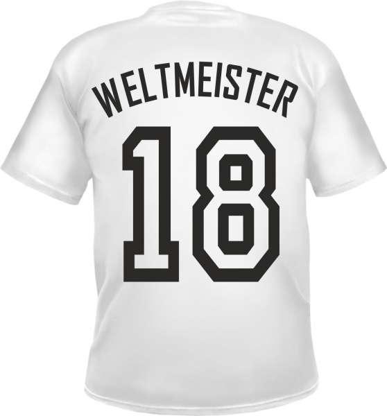 WELTMEISTER 2018 - weiss - Herren T-Shirt