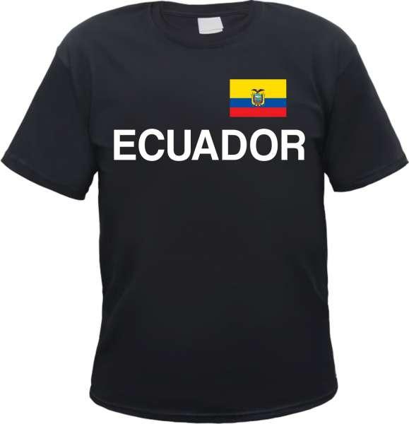 Ecuador Flagge Herren T-Shirt Ekuador República del Ecuador