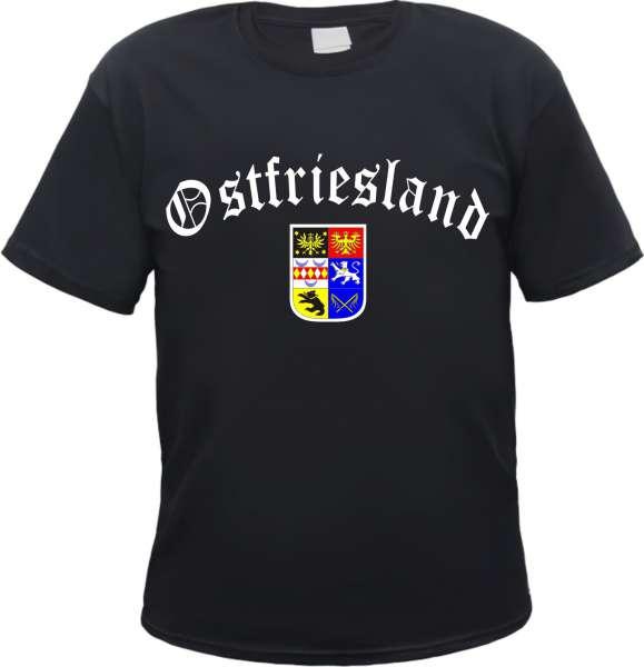 OSTFRIESLAND T-Shirt mit Wappen