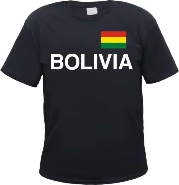 Bolivia Flagge Herren T-Shirt Bolivien