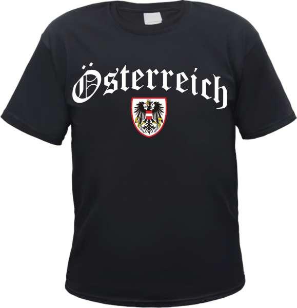 Österreich Wappen Herren T-Shirt