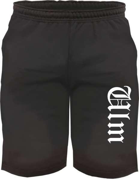 Ulm Sweatshorts - Altdeutsch bedruckt - Kurze Hose Shorts