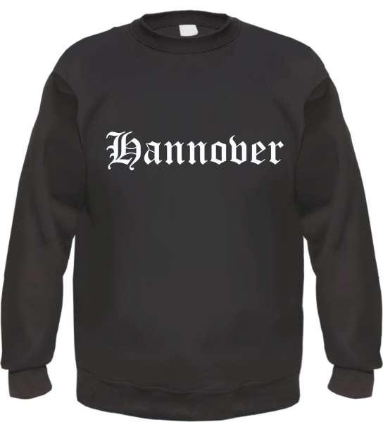 Hannover Sweatshirt - Altdeutsch - bedruckt - Pullover