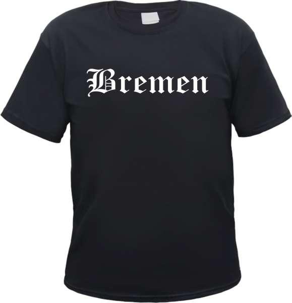 Bremen Herren T-Shirt - Altdeutsch - Tee Shirt