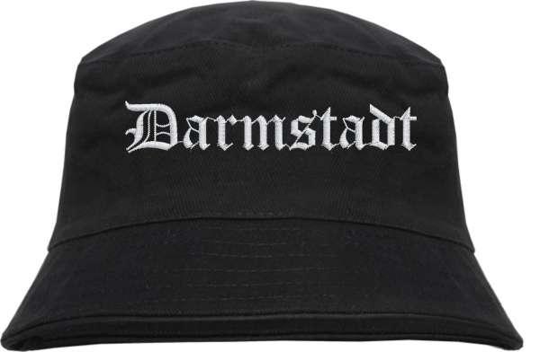Darmstadt Fischerhut - Altdeutsch - bestickt - Bucket Hat Anglerhut Hut