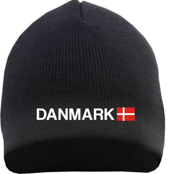 Danmark Beanie - bestickt - Mütze