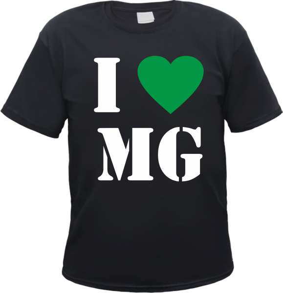Mönchengladbach T-Shirt - I Love MG
