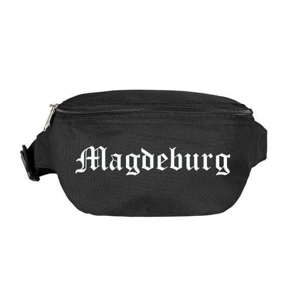 Magdeburg Bauchtasche - Altdeutsch bedruckt - Gürteltasche Hipbag