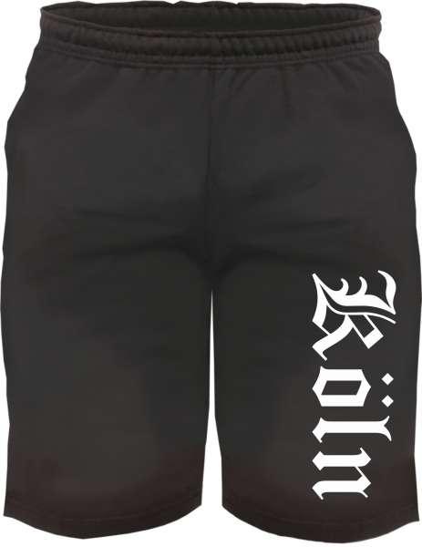 Köln Sweatshorts - Altdeutsch bedruckt - Kurze Hose Shorts