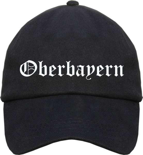 Oberbayern Cappy - Altdeutsch bedruckt - Schirmmütze Cap