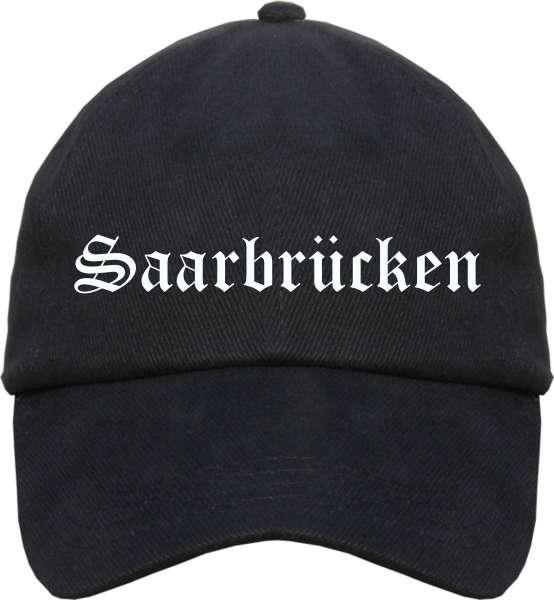 Saarbrücken Cappy - Altdeutsch bedruckt - Schirmmütze Cap