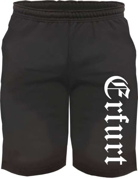 Erfurt Sweatshorts - Altdeutsch bedruckt - Kurze Hose Shorts