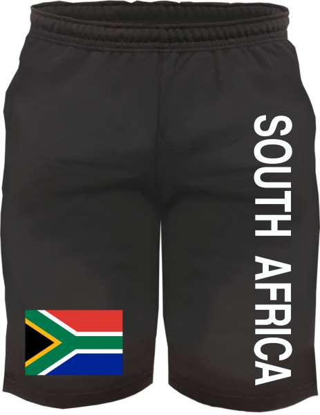 South Africa Sweatshorts - bedruckt - Kurze Hose Shorts Flagge Südafrika