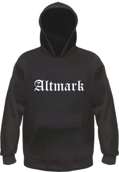 Altmark Kapuzensweatshirt - Altdeutsch - bedruckt - Hoodie Kapuzenpullover