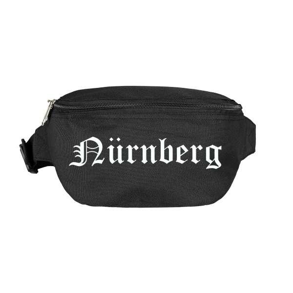 Nürnberg Bauchtasche - Altdeutsch bedruckt - Gürteltasche Hipbag