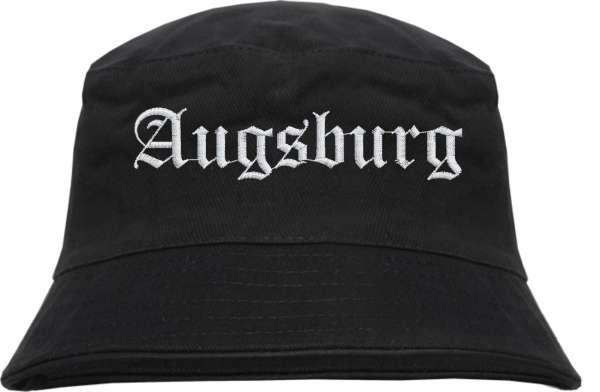 AUGSBURG Fischerhut - Bucket Hat - bestickt -