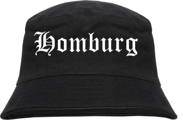 Homburg Fischerhut - Altdeutsch - bedruckt - Bucket Hat Anglerhut Hut