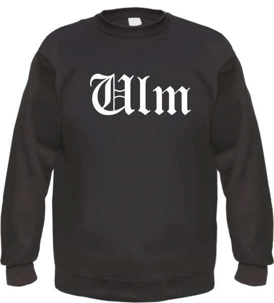 Ulm Sweatshirt - Altdeutsch - bedruckt - Pullover