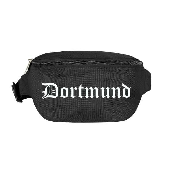 Dortmund Bauchtasche - Altdeutsch bedruckt - Gürteltasche Hipbag