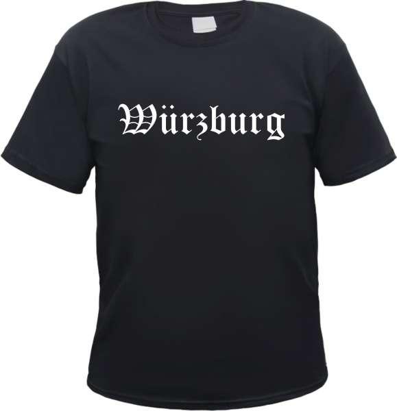 Würzburg Herren T-Shirt - Altdeutsch - Tee Shirt