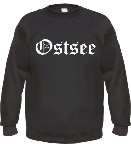 Ostsee Sweatshirt - Altdeutsch - bedruckt - Pullover