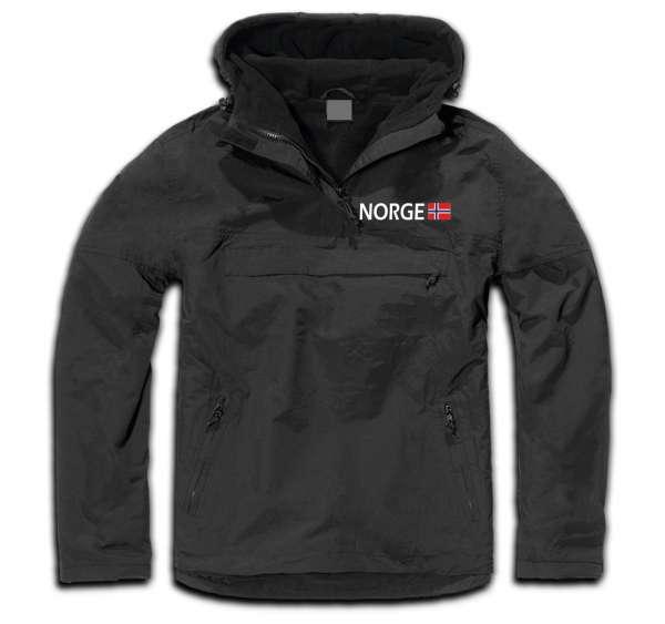 NORGE Windbreaker - bestickt -