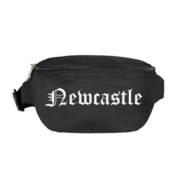 Newcastle Bauchtasche - Altdeutsch bedruckt - Gürteltasche Hipbag