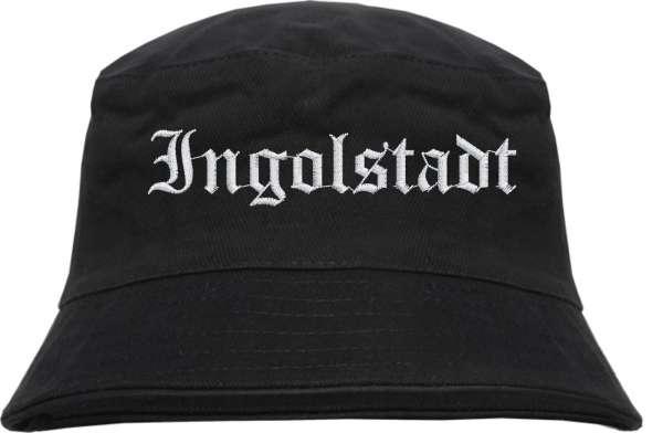 Ingolstadt Fischerhut - Altdeutsch - bestickt - Bucket Hat Anglerhut Hut
