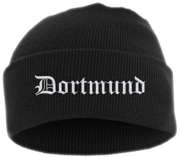 Dortmund Umschlagmütze - Mütze - bestickt -