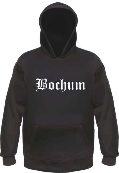 Bochum Kapuzensweatshirt - Altdeutsch - bedruckt - Hoodie Kapuzenpullover