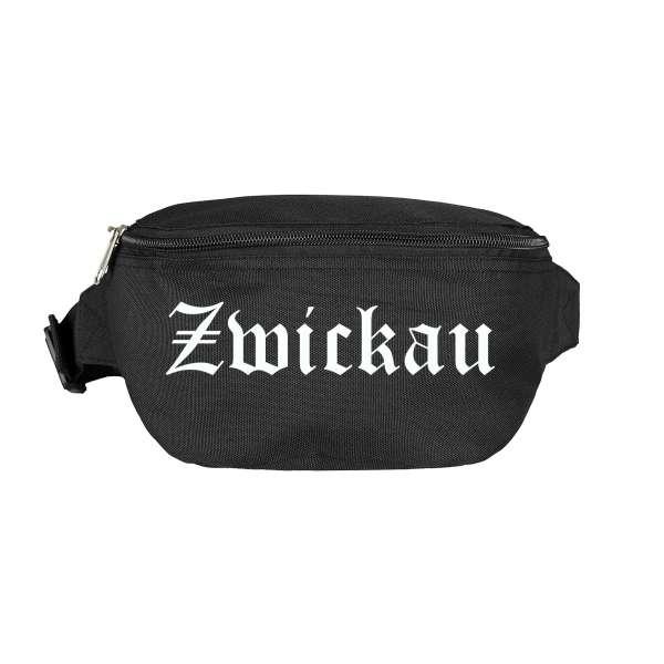Zwickau Bauchtasche - Altdeutsch bedruckt - Gürteltasche Hipbag