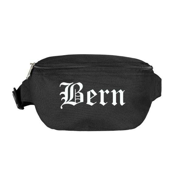 Bern Bauchtasche - Altdeutsch bedruckt - Gürteltasche Hipbag