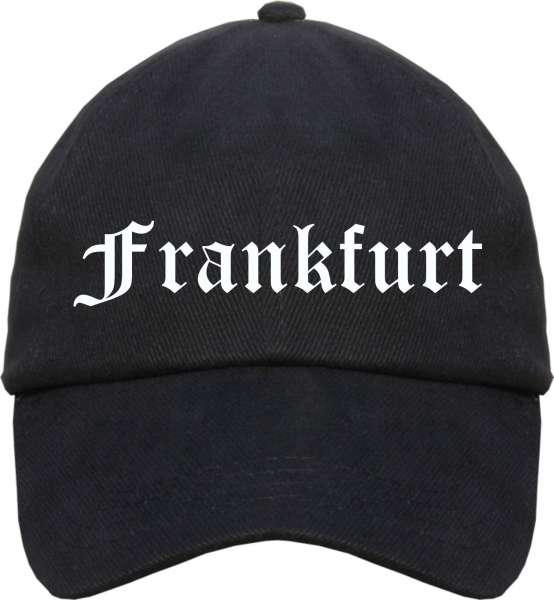 Frankfurt Cappy - Altdeutsch bedruckt - Schirmmütze Cap