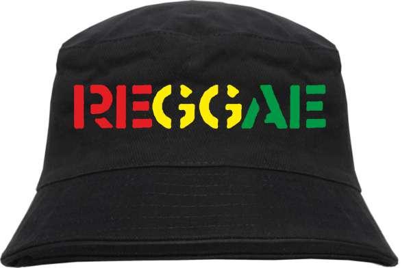 Reggae Fischerhut - bedruckt - Bucket Hat Anglerhut Hut