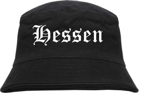 Hessen Fischerhut - Altdeutsch - bedruckt - Bucket Hat Anglerhut Hut