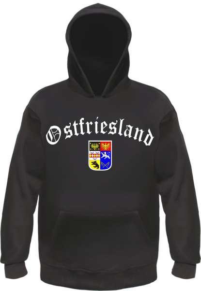 OSTFRIESLAND Hoodie Kapuzensweatshirt