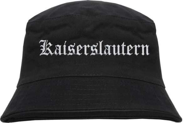 Kaiserslautern Fischerhut - Altdeutsch - bestickt - Bucket Hat Anglerhut Hut