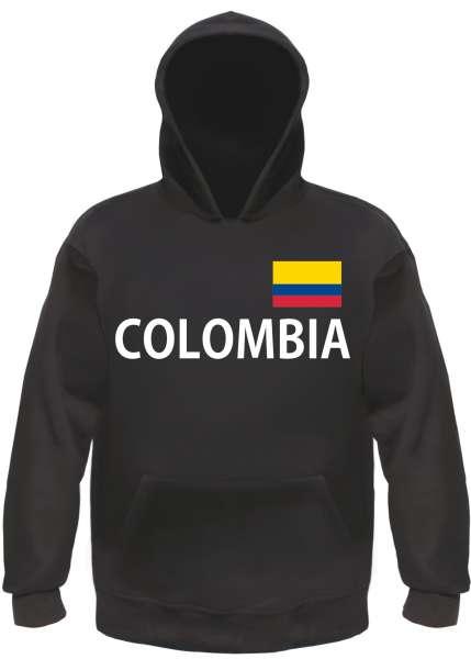 COLOMBIA Hoodie Kapuzensweatshirt Kolumbien