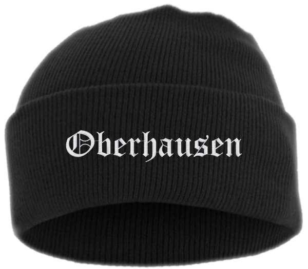 Oberhausen Umschlagmütze - Altdeutsch - Bestickt - Mütze mit breitem Umschlag