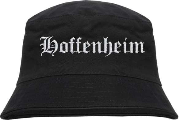 Hoffenheim Fischerhut - Altdeutsch - bestickt - Bucket Hat Anglerhut Hut