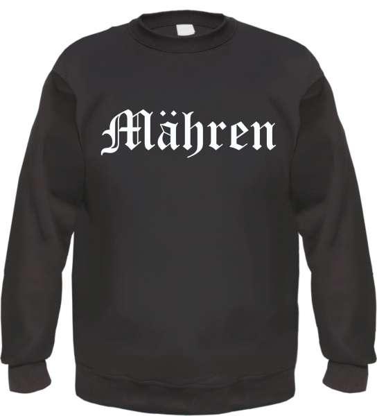 Mähren Sweatshirt - Altdeutsch - bedruckt - Pullover