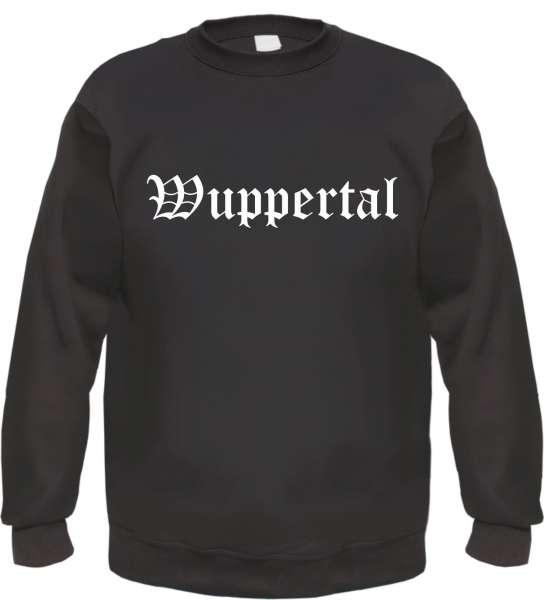 Wuppertal Sweatshirt - Altdeutsch - bedruckt - Pullover