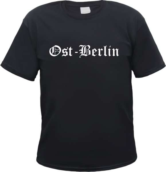 Ost-Berlin Herren T-Shirt - Altdeutsch - Tee Shirt