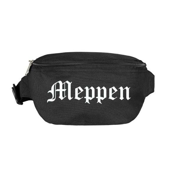 Meppen Bauchtasche - Altdeutsch bedruckt - Gürteltasche Hipbag