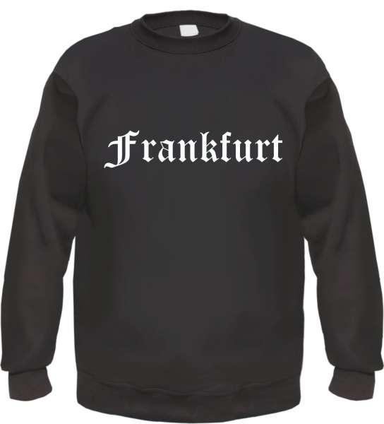 Frankfurt Sweatshirt - Altdeutsch - bedruckt - Pullover