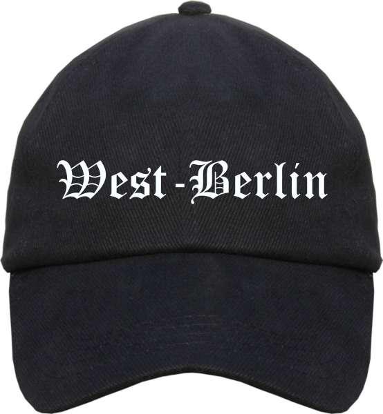 West-Berlin Cappy - Altdeutsch bedruckt - Schirmmütze Cap
