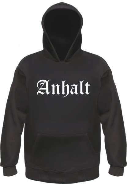 Anhalt Kapuzensweatshirt - Altdeutsch - bedruckt - Hoodie Kapuzenpullover
